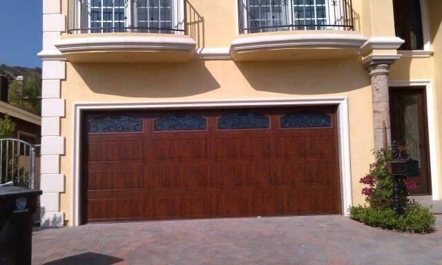 Garage door and gates 4 less sherman oaks california for Residential wood doors