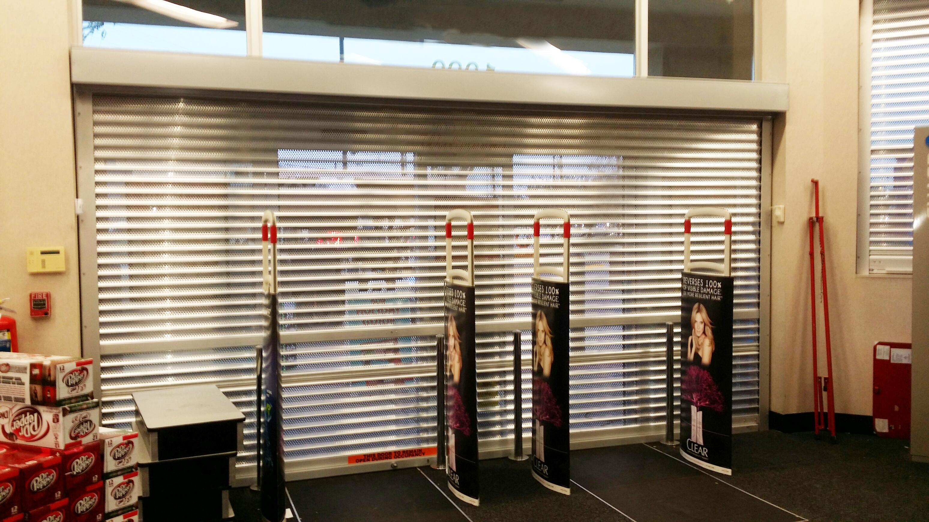 Pharmacy Security Shutter & Texas Overhead Door - Pharmacy Security Shutter Image | ProView