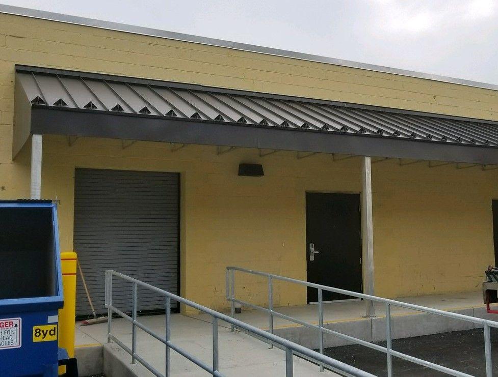 MASA Architectural Canopies - MASA Alumiframe awning at CSL