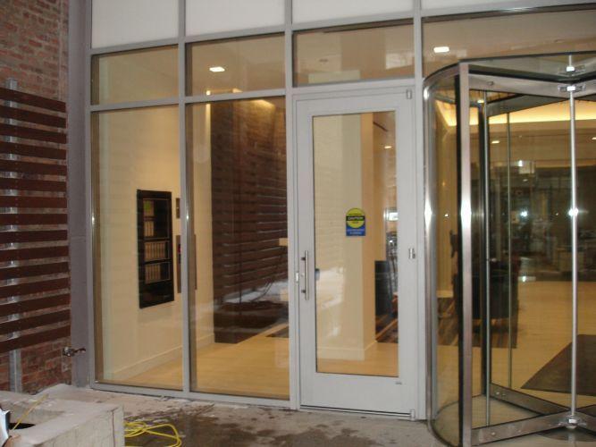 Automatic Doors For Condominium And Apartment Building Lobby