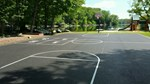 Private Community Basketball Court  Photo 1 - A Plus Striping, Inc.