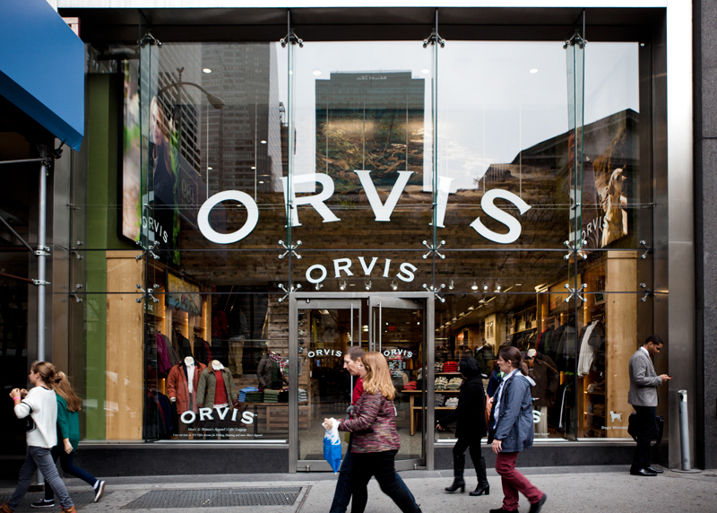 Orvis - Impact Storefront Designs