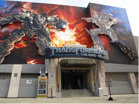 Universal Studios Hollywood Transformers Attraction - M-N-Z Janitorial Services, Inc.