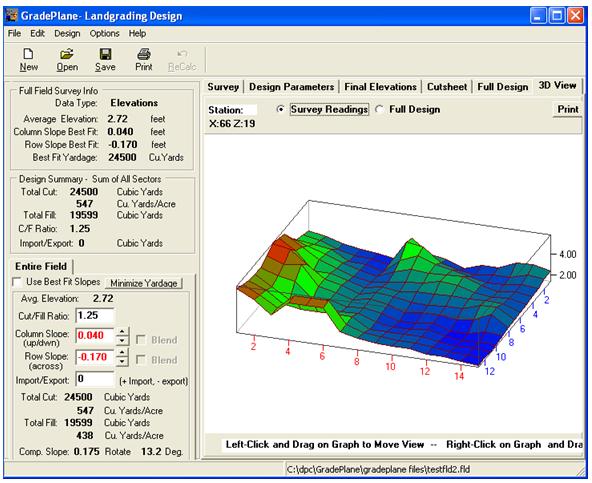 MEI Survey Instruments & Supplies - GradePlane LandGrading
