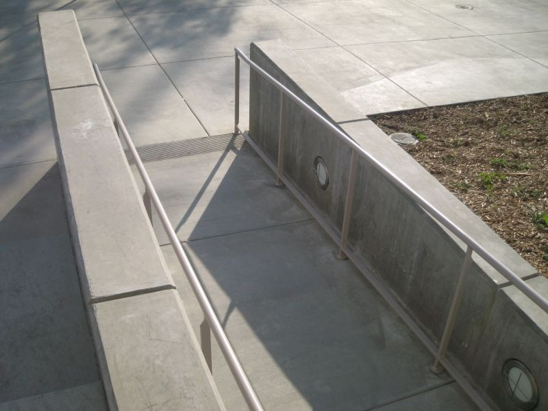 Concrete Ramp - ADA Compliant - ACR Concrete & Asphalt Construction, Inc.
