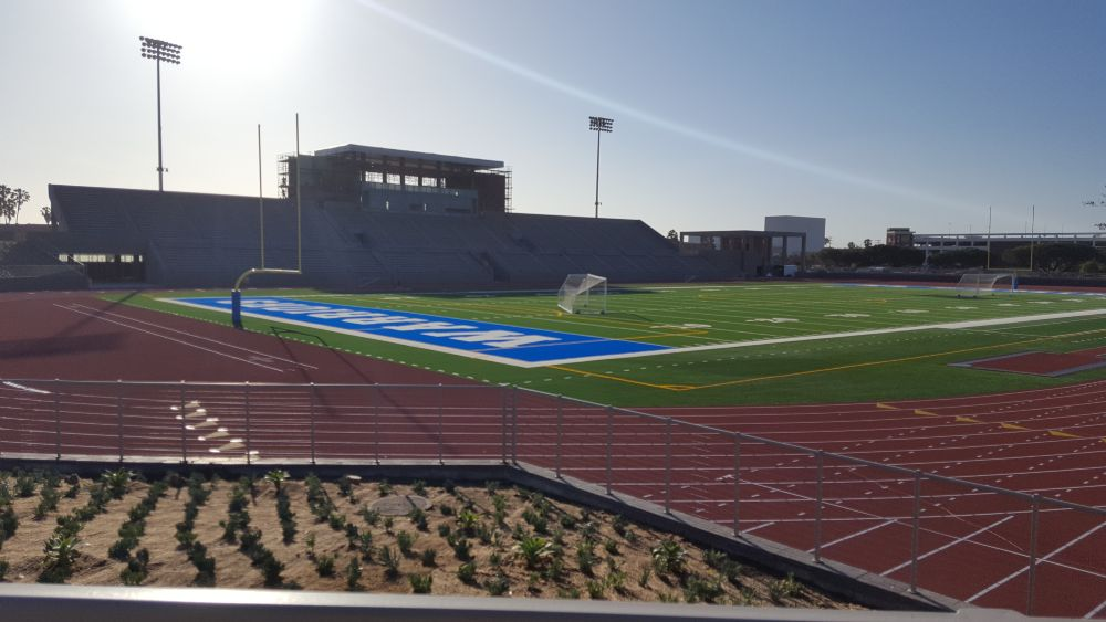 El Camino College - New Stadium - ACR Concrete & Asphalt Construction, Inc.