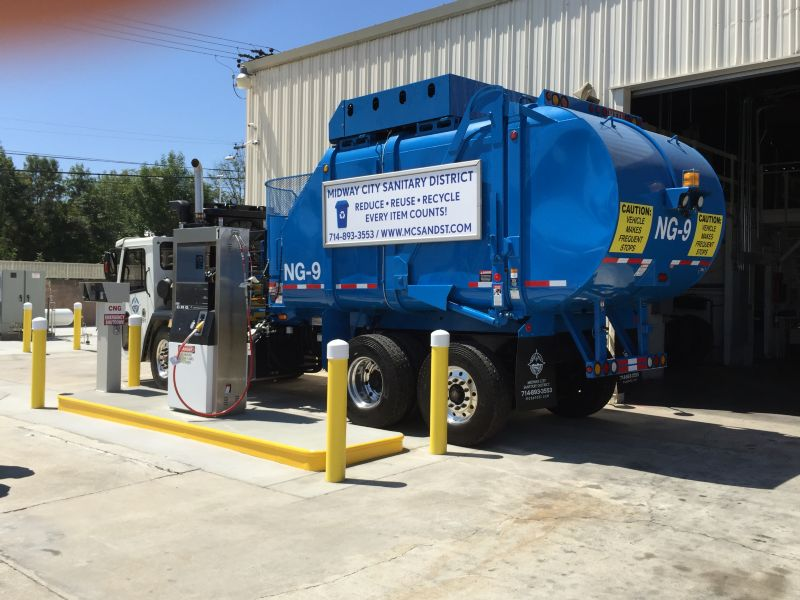 Midway City CNG Facility - ACR Concrete & Asphalt Construction, Inc.