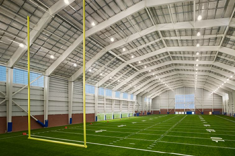 New york football giants new training facility office for Indoor facility design