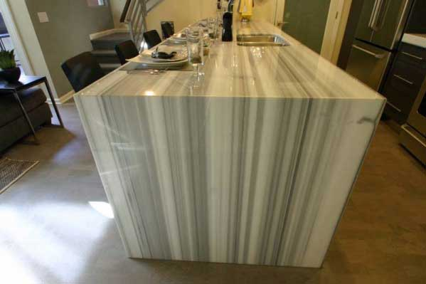 Projects Turned into Reality (Kitchen Countertop) - California Crafted Marble, Inc.