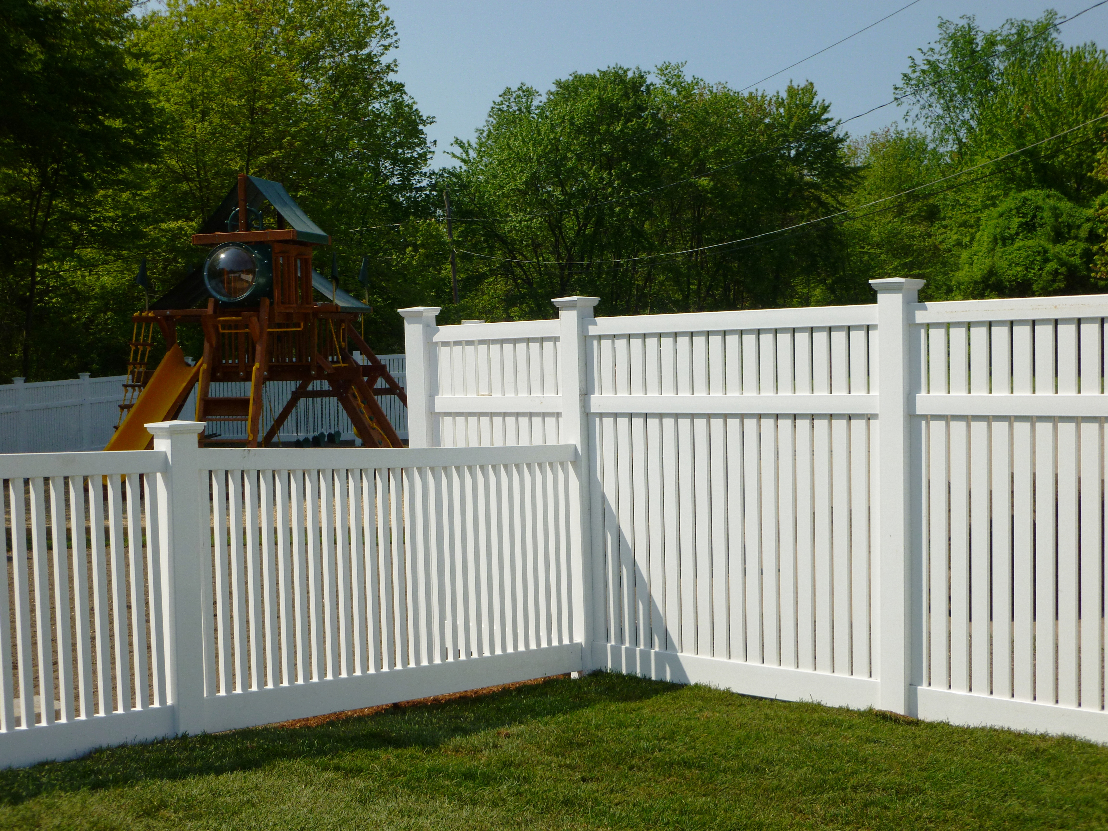 Rd Fence Company Swim Tennis And Daycare Facility Pvc