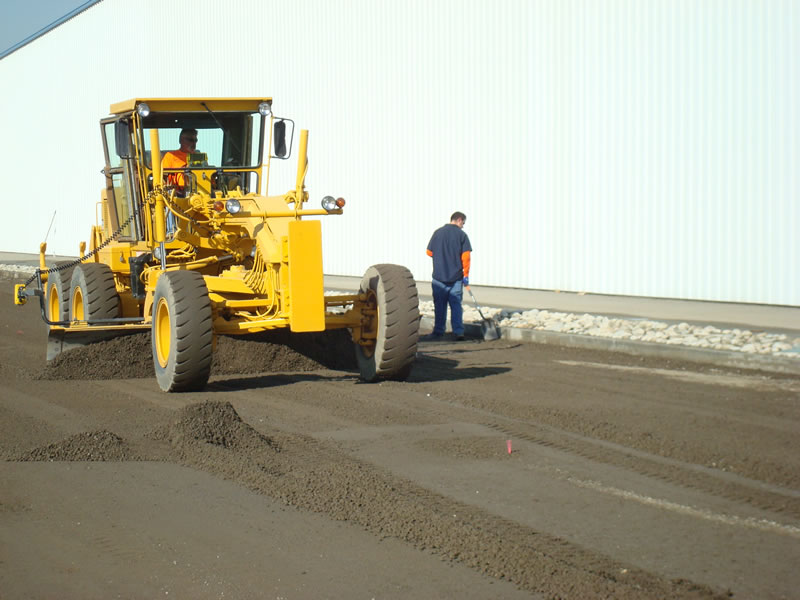 Grade & Pave - MGB Construction