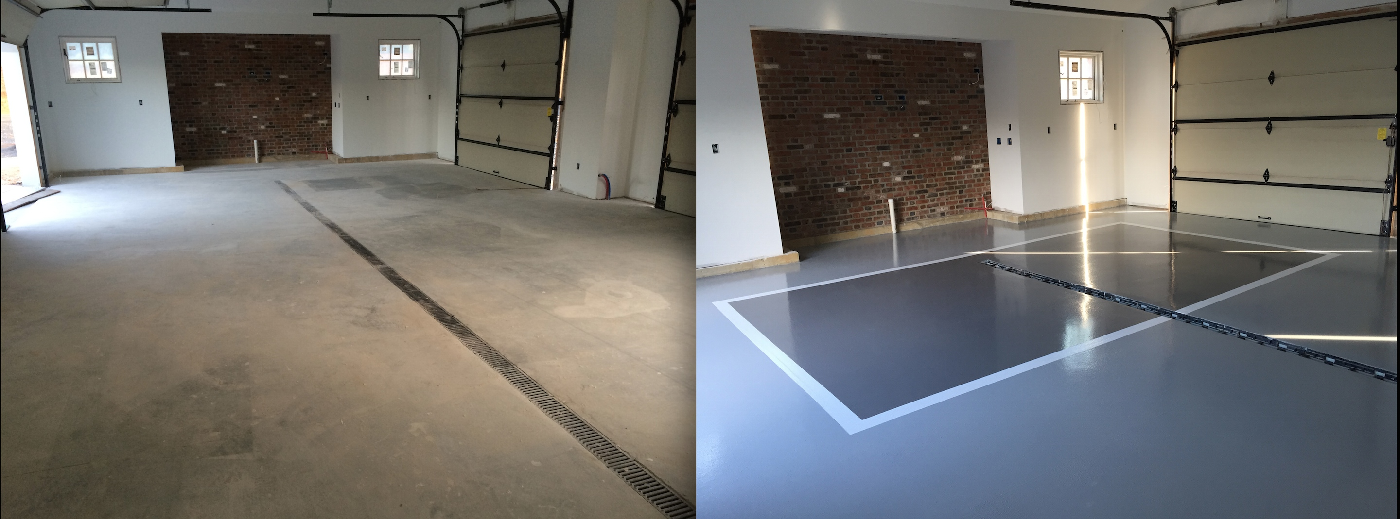 Epoxy Before And After : Concrete floor solutions inc video image gallery