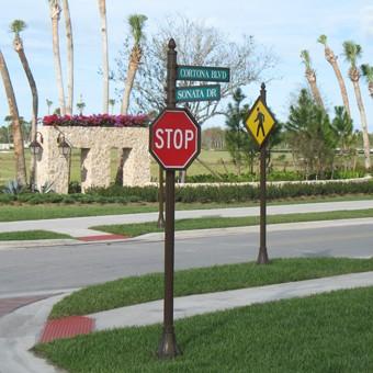 decorative street sign Home Decor 2017