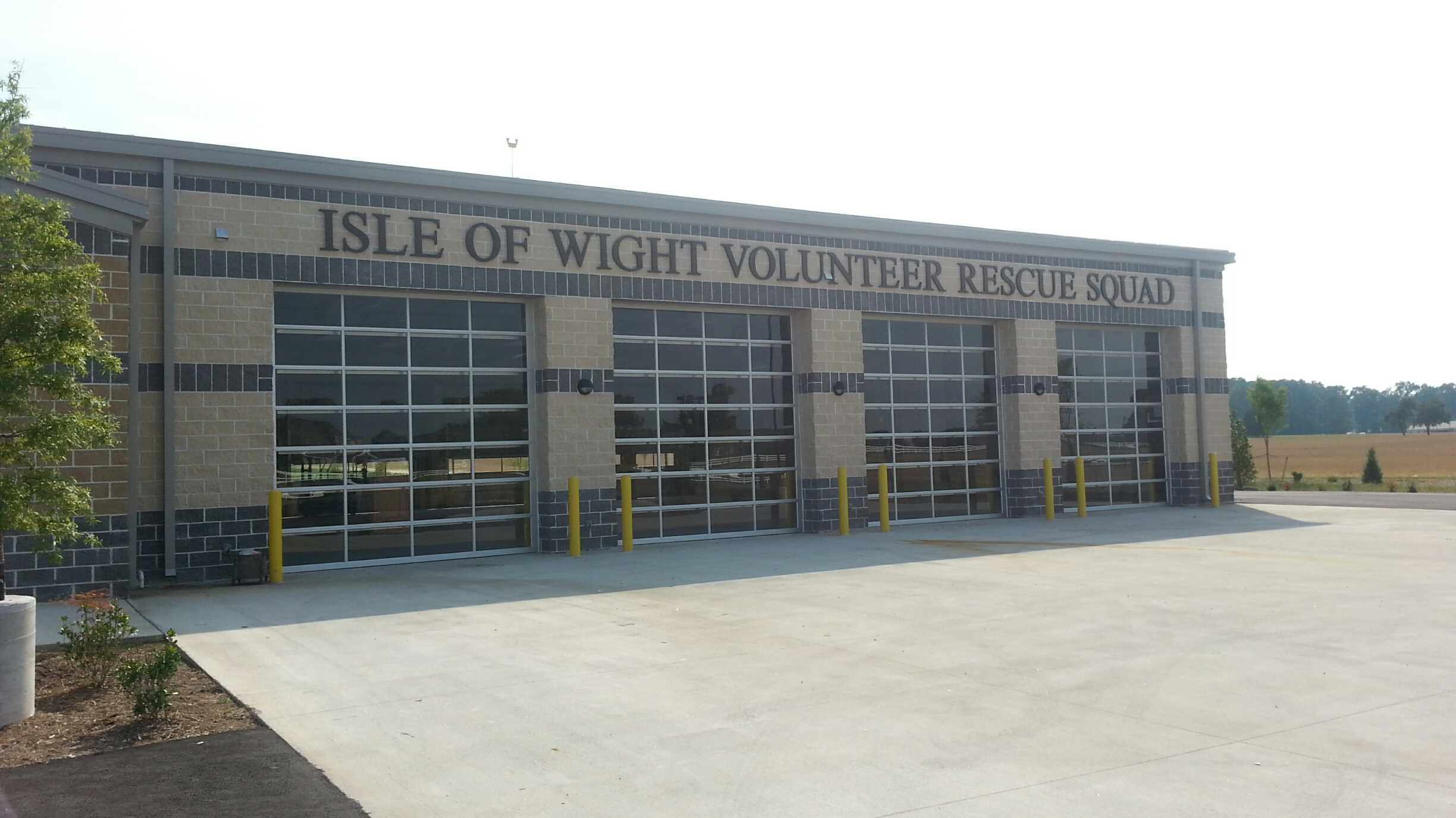 Charming ... Overhead Doors, Insulated Full Vision Sectional Doors At Fire Station    Isle Of Wight, VA   Amelia ...
