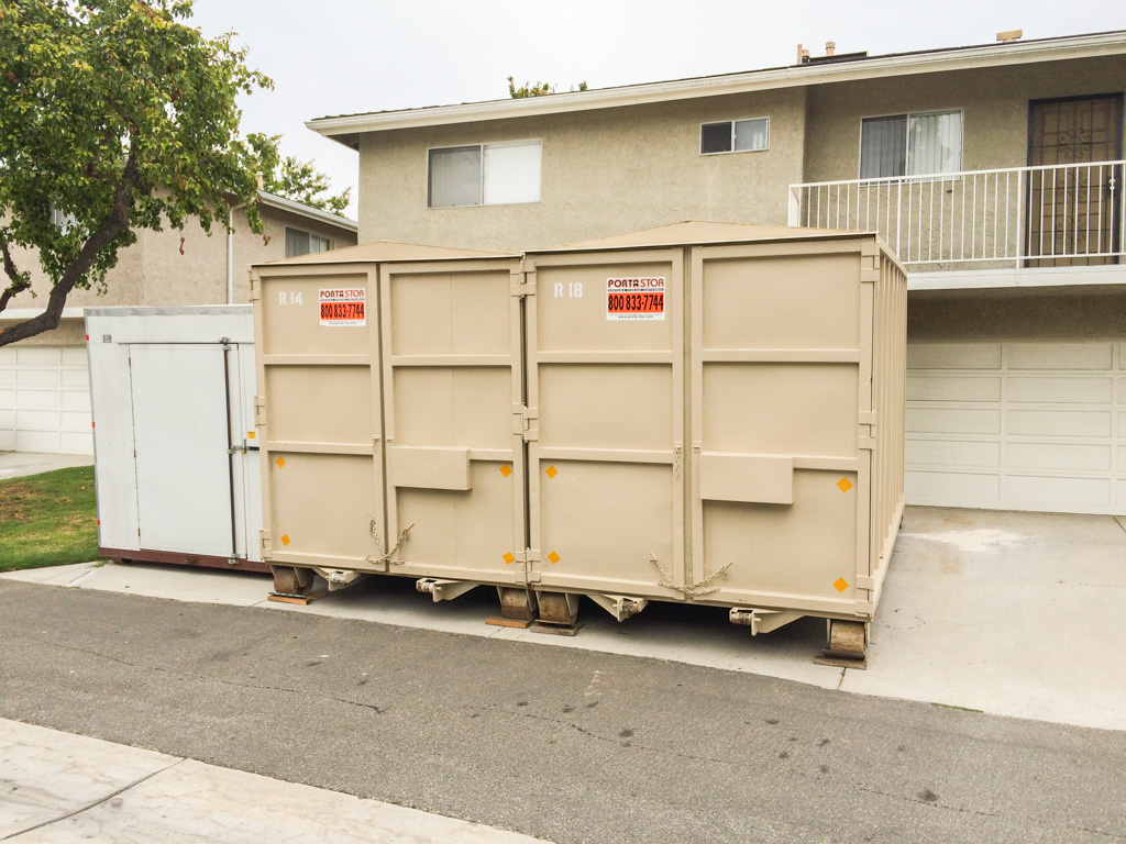 Porta Stor 16 Foot Roll Off Storage Containers Images