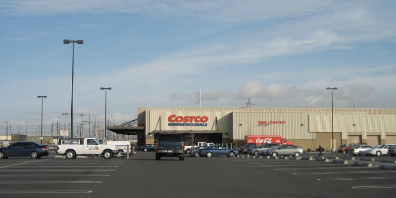 pavement markings incorporated costco tukwila
