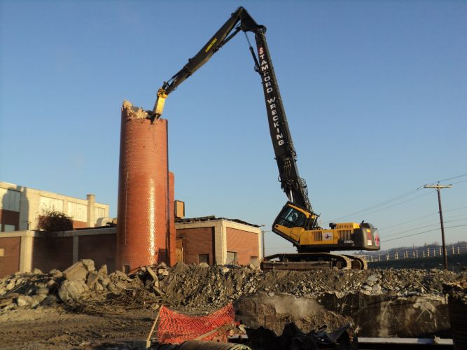 Water Treatment Plant Demolition : Stamford wrecking company trumbull connecticut proview