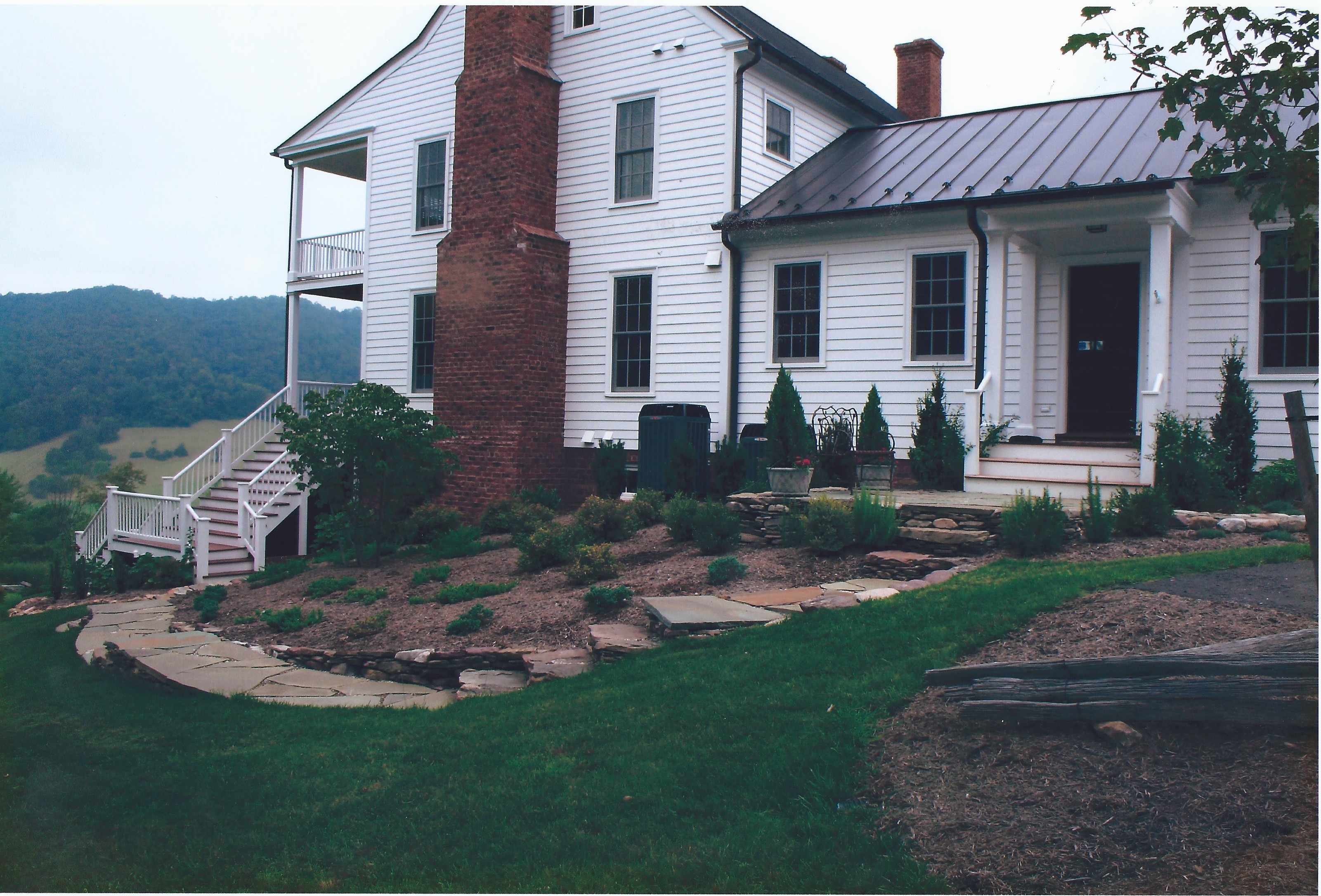 Waynesboro landscape garden center video image gallery proview stone walkway with steps and plantings workwithnaturefo