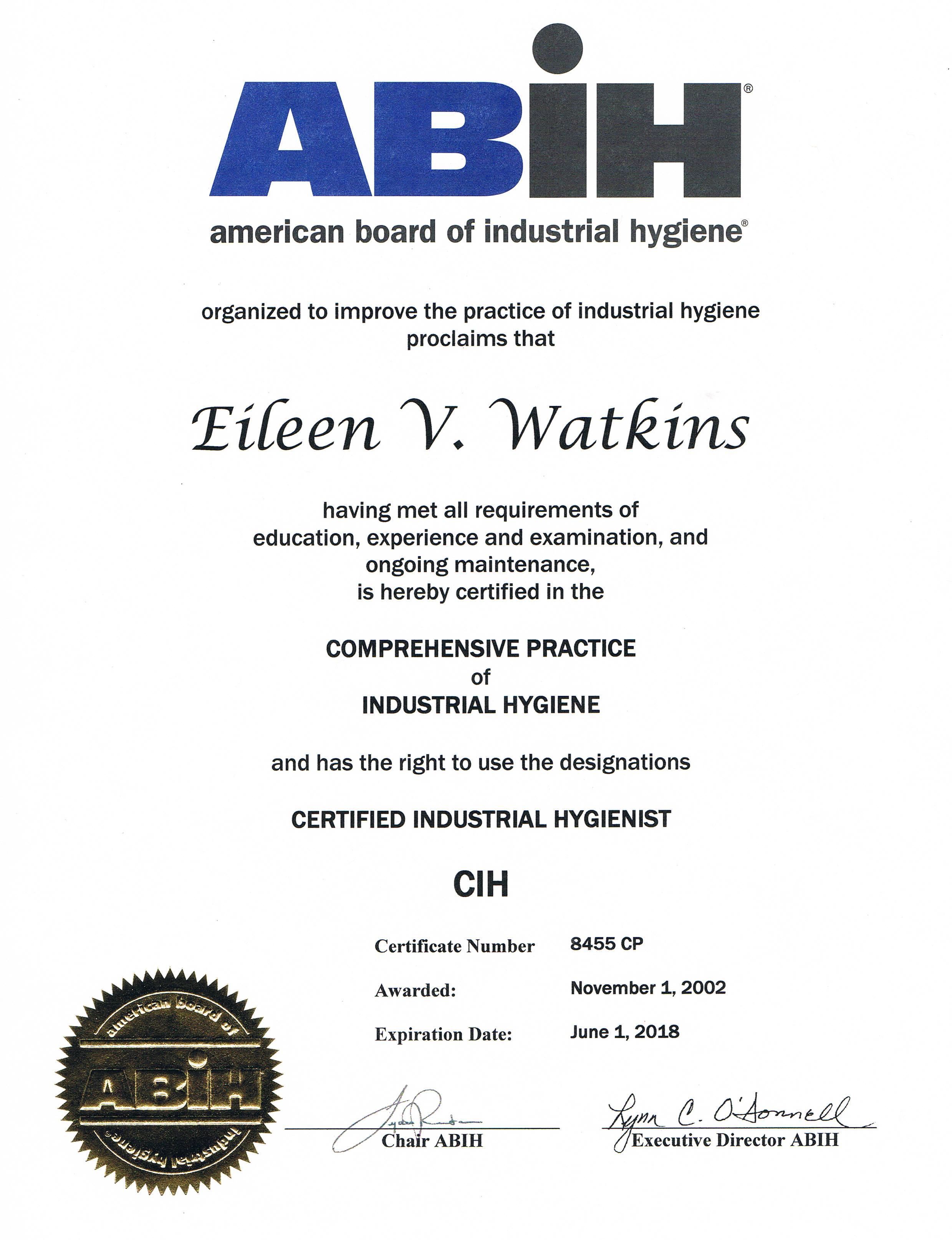 Cashins Associates Inc Licenses Insurance Bonding