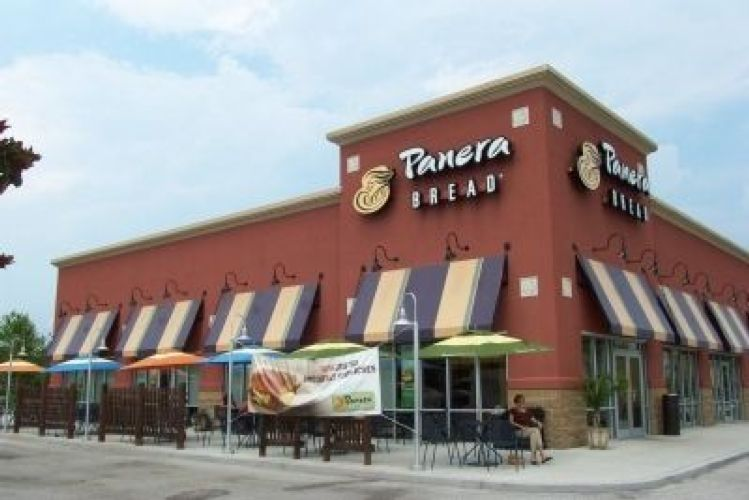 Panera Bread portable toilets Roll off Dumpsters and storage