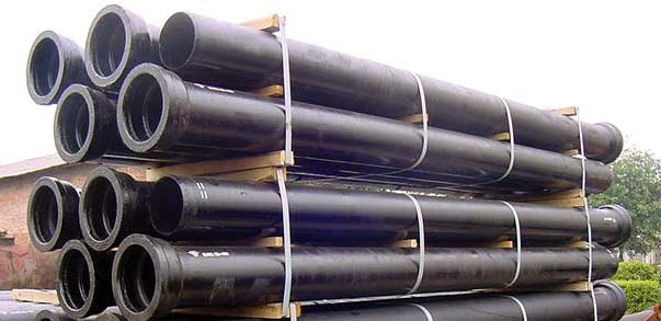 Siteco materials inc video image gallery proview for Water main pipe material