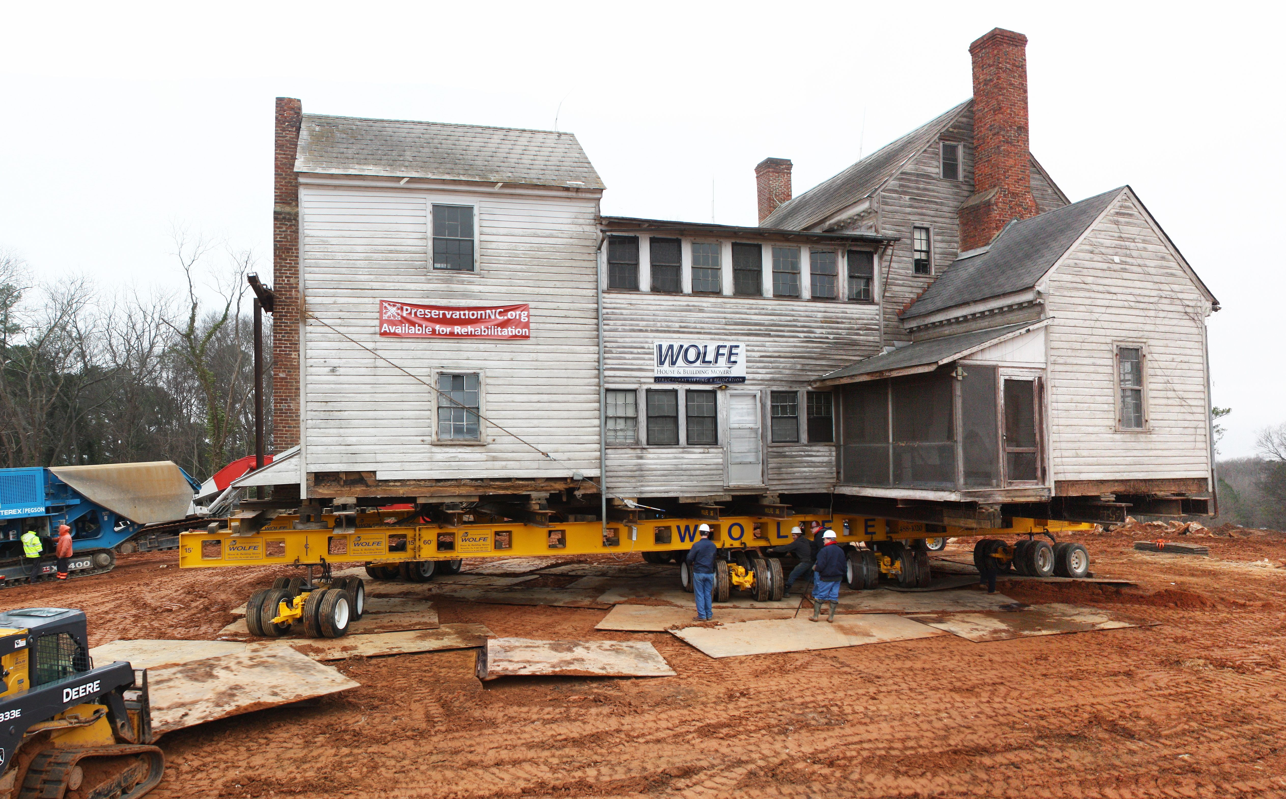 Wolfe House Movers LLC - Historic Frame House - Raleigh, NC Image ...