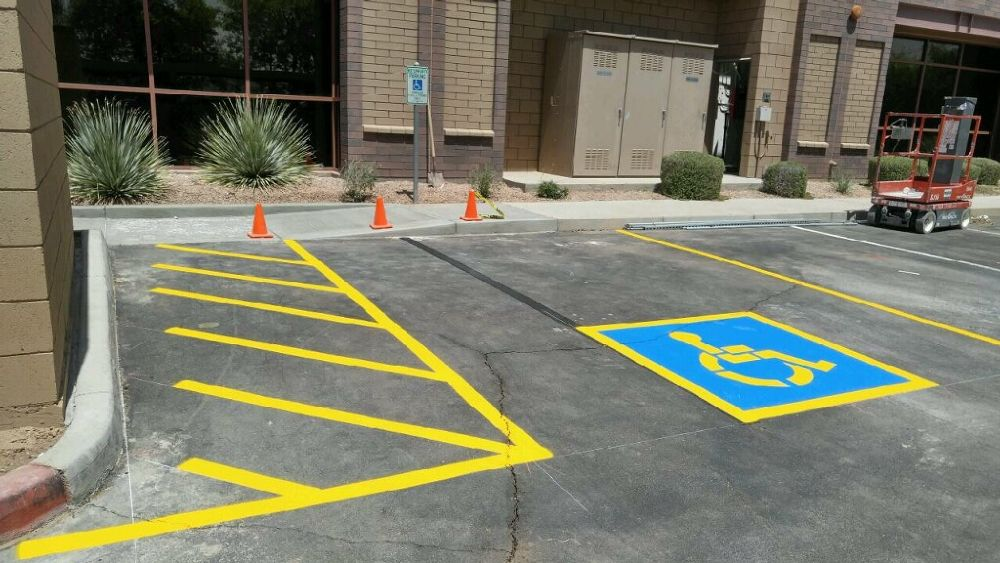 ADA Compliance - Maricopa Curb & Striping, Inc.
