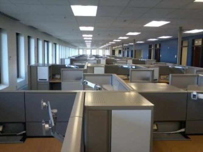 Gsa vba 2nd floor build out by in indianapolis in proview for Vba floor