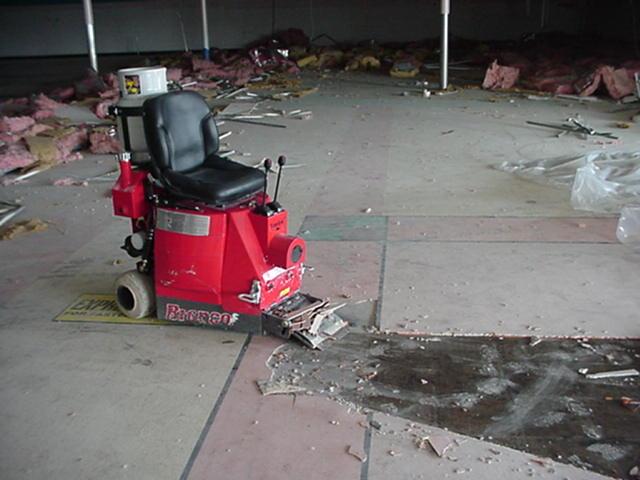 AL Remediation Services Inc Cuttting Edge Floor Removal - Ceramic tile removing equipment