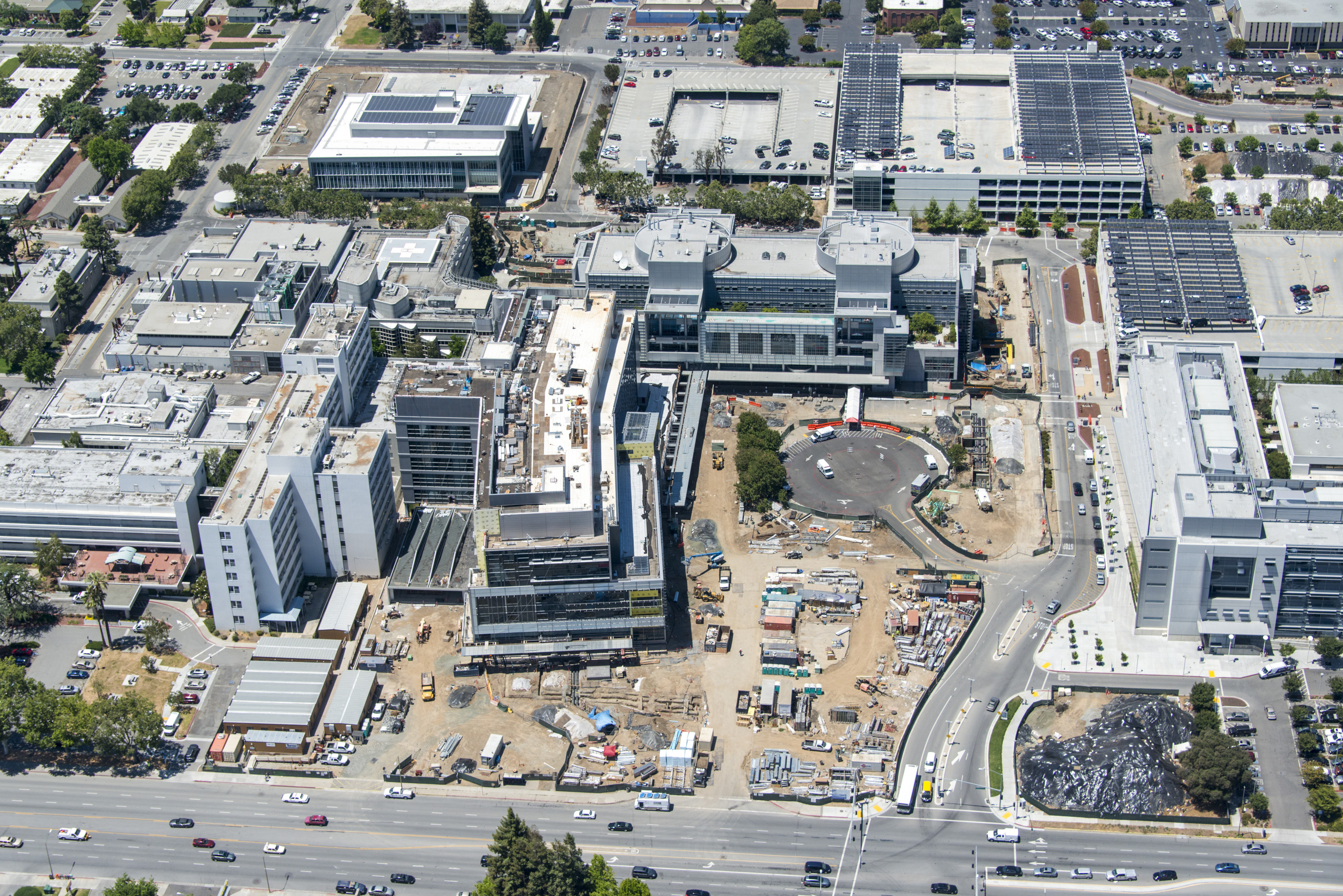 Santa Clara Valley Medical Center - 111th Aerial & Architectural Photography