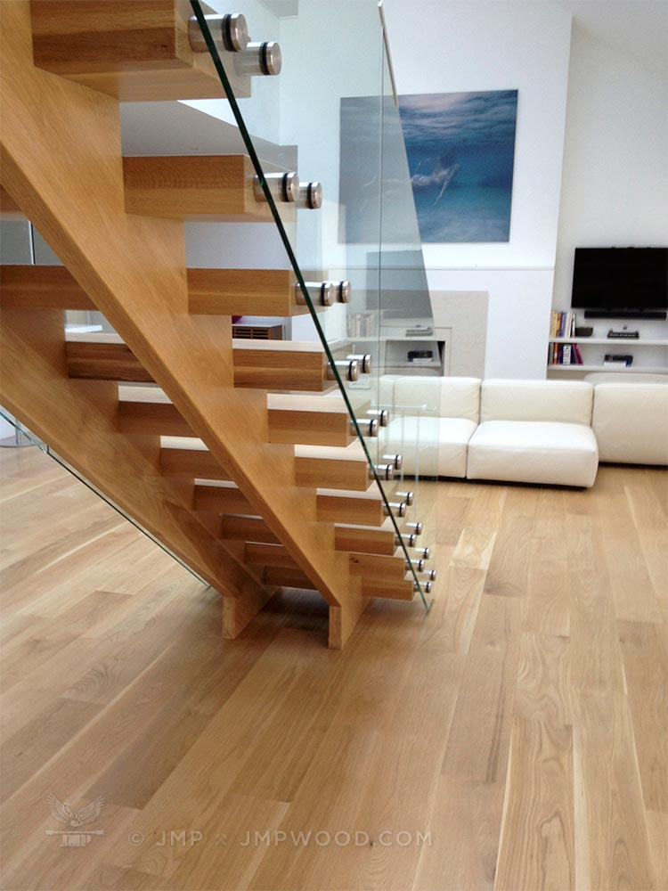 wooden stairs railings - Wooden Stairs