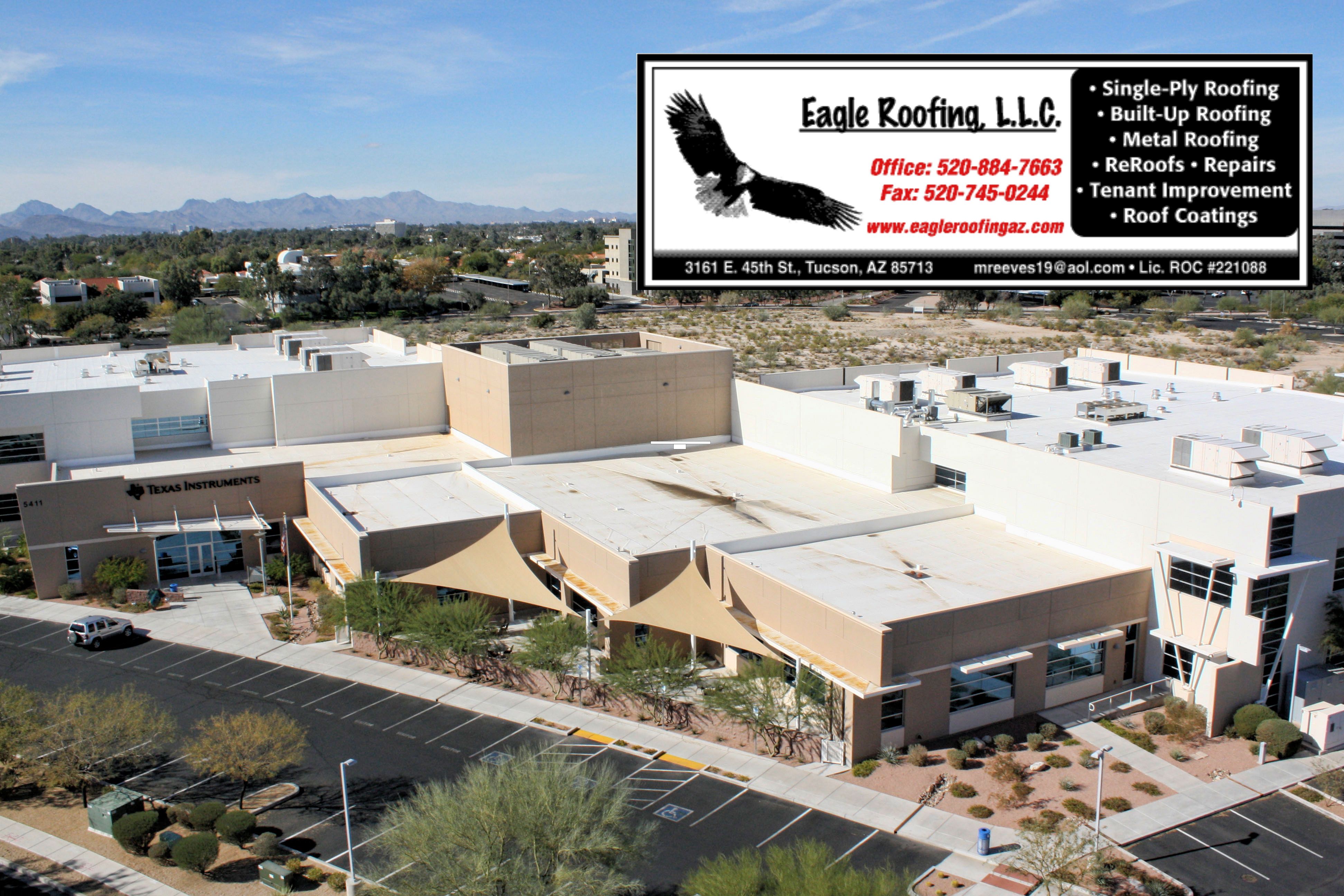 Nice Texas Instruments   Eagle Roofing, L.L.C. ...