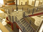 Stair & Railing LA Fitness Photo 1 - First State Fabrication, LLC