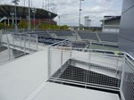 USTA Stadium Railings Photo 1 - First State Fabrication, LLC