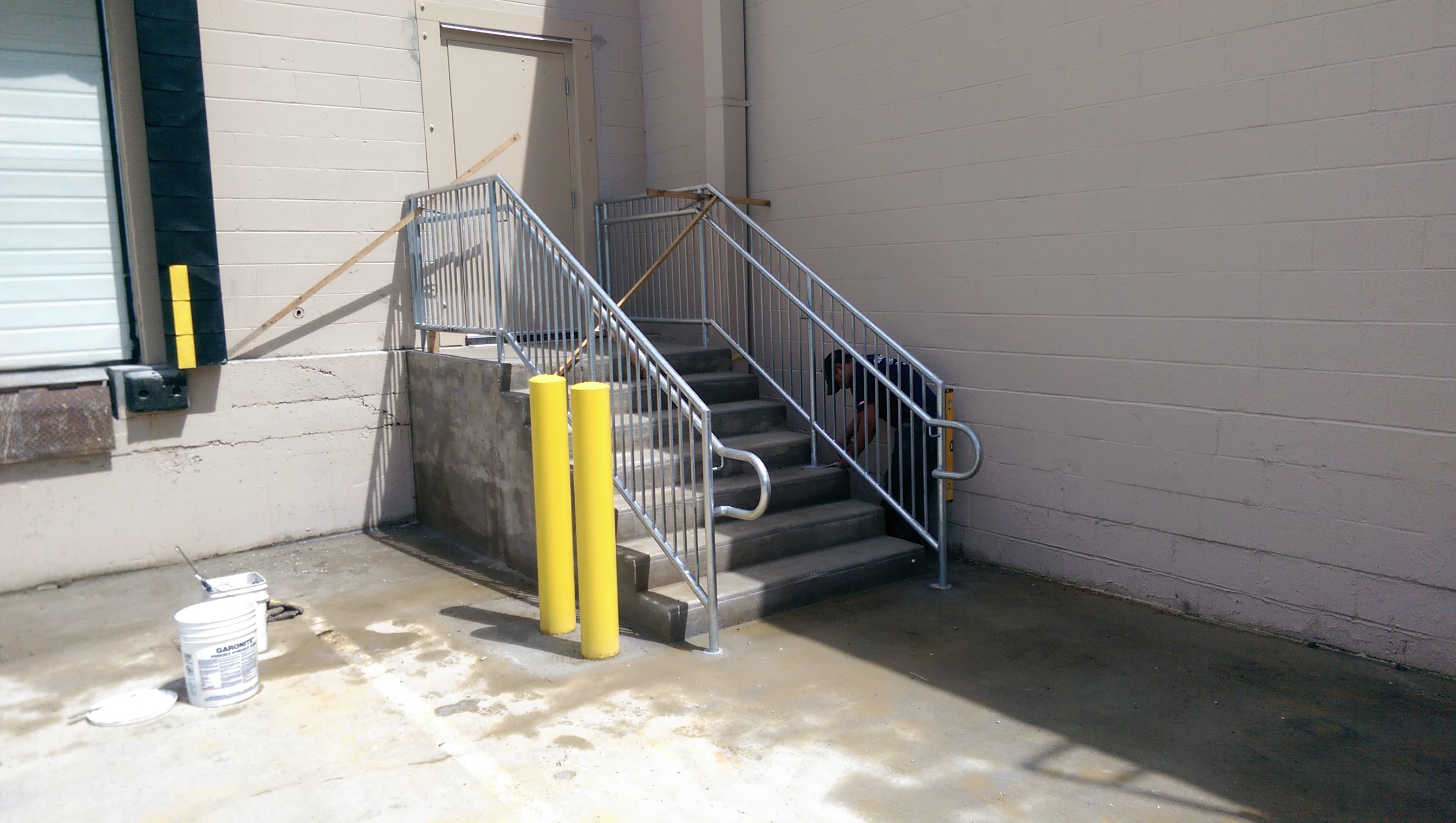 Warehouse Stairs