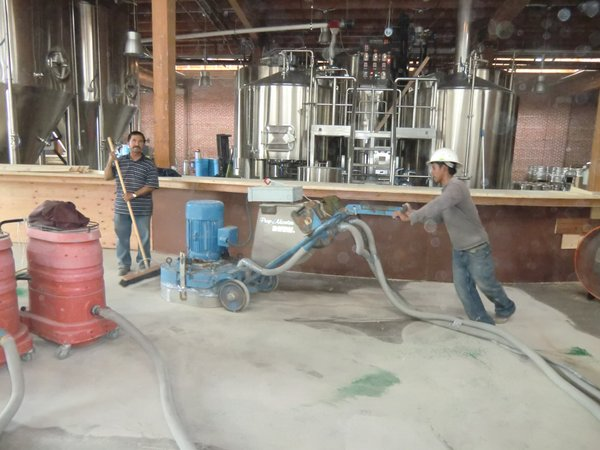 Mission Brewery - Superior Concrete Surfaces.com