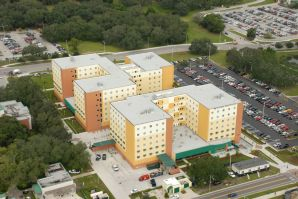 usf student housing magnolia hall by peter r brown construction