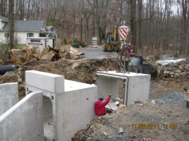 Butter Lane Culvert Replacement Photo 2 - Bertolet Construction Corp.