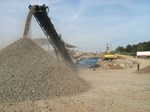 Concrete Crushing - A-1 Sandrock Inc.