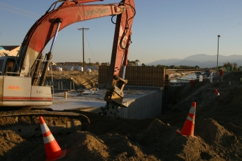Canal Diversion / Box Culvert, Indio - Slater, Inc.