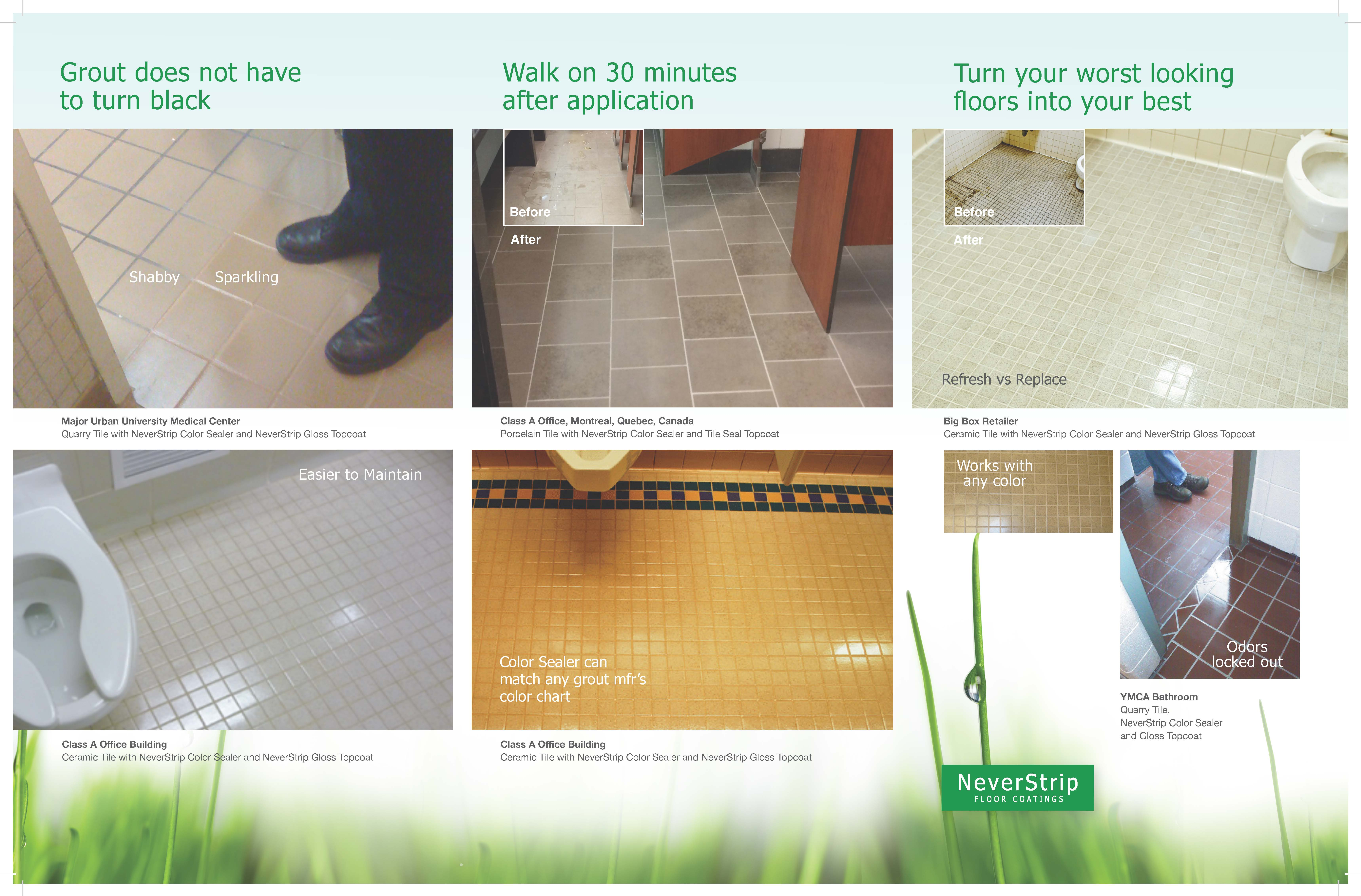 NeverStrip Tile & Grout