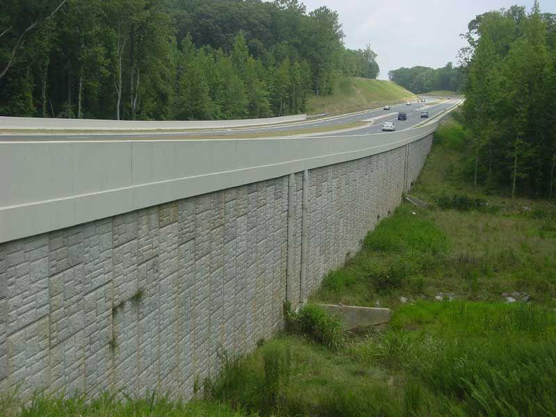 Mse Wall Construction : Retaining walls company inc alpharetta georgia