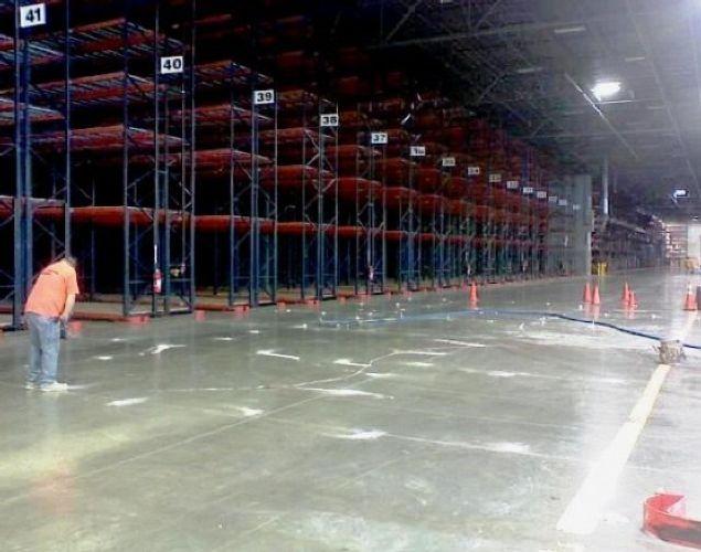 American Furniture Warehouse Slab Stabilization By In