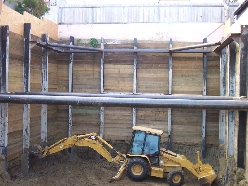 Temporary Braced Wall - Western Foundations & Shoring, Inc.