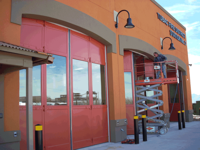 20+ Fire Stations - New Construction & Renovation Photo 1 - Applied Rite Doors & Docks Inc.