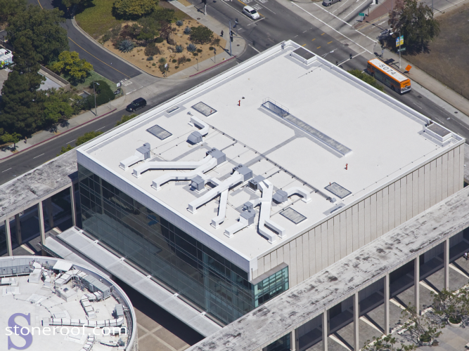 Ahmanson Theater Roof Replacement  Photo 1 - Stone Roofing Company, Incorporated