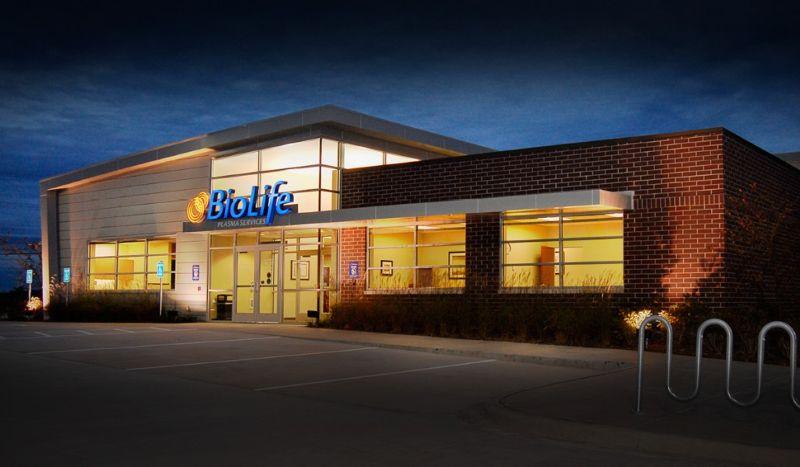 Biolife Plasma Services Center By In Douglasville Ga Proview