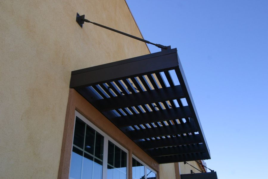 Suspended Window Awning - Sun City Awning & Patio