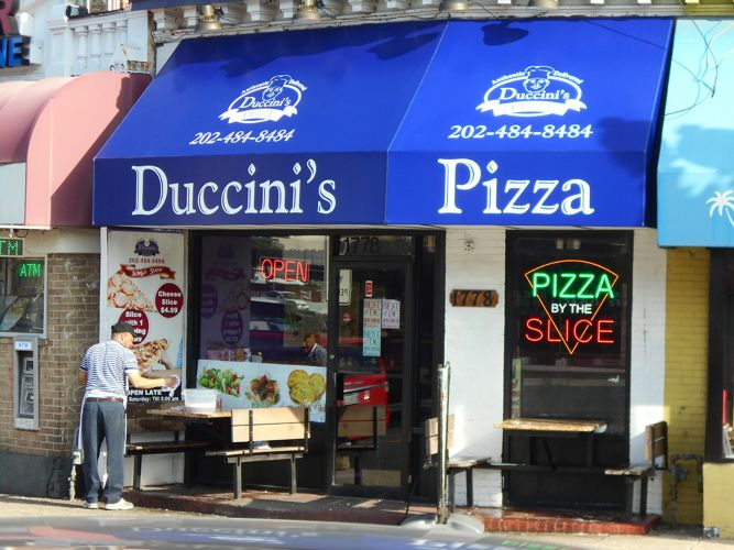 A Hoffman Awning Co Duccinis PIzza