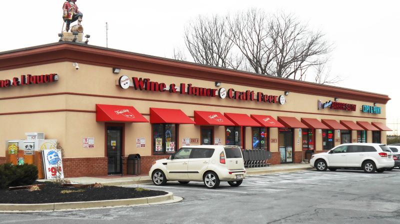 Friendship Wine Liquor Store Awnings